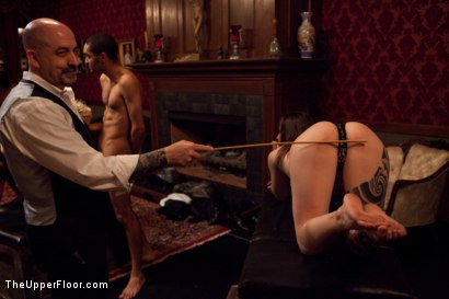 Photo number 19 from House Party: Stretching pussy shot for The Upper Floor on Kink.com. Featuring Mickey Mod, Dylan Ryan, Bobby Bends, Krysta Kaos and Odile in hardcore BDSM & Fetish porn.