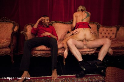 Photo number 14 from House Party: Stretching pussy shot for The Upper Floor on Kink.com. Featuring Mickey Mod, Dylan Ryan, Bobby Bends, Krysta Kaos and Odile in hardcore BDSM & Fetish porn.