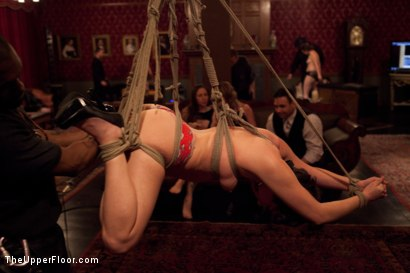 Photo number 4 from House Party: Stretching pussy shot for The Upper Floor on Kink.com. Featuring Mickey Mod, Dylan Ryan, Bobby Bends, Krysta Kaos and Odile in hardcore BDSM & Fetish porn.