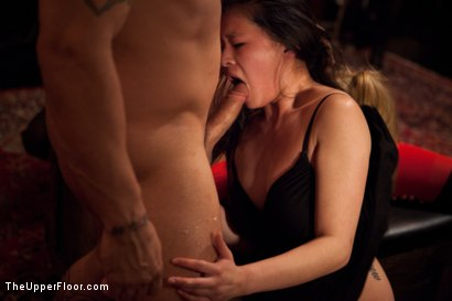 Photo number 25 from Slave Competition Party  shot for The Upper Floor on Kink.com. Featuring Dylan Ryan, Derrick Pierce, Krysta Kaos, Lily LaBeau and Skin Diamond in hardcore BDSM & Fetish porn.