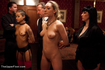 Photo number 27 from Slave Competition Party  shot for The Upper Floor on Kink.com. Featuring Dylan Ryan, Derrick Pierce, Krysta Kaos, Lily LaBeau and Skin Diamond in hardcore BDSM & Fetish porn.