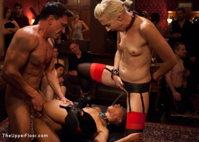 Photo number 20 from Restriction Lifted shot for The Upper Floor on Kink.com. Featuring Skin Diamond, Krysta Kaos, Dylan Ryan, Marco Banderas, Maestro Stefanos and The Pope in hardcore BDSM & Fetish porn.