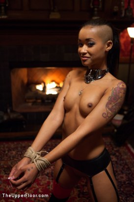 Photo number 3 from Restriction Lifted shot for The Upper Floor on Kink.com. Featuring Skin Diamond, Krysta Kaos, Dylan Ryan, Marco Banderas, Maestro Stefanos and The Pope in hardcore BDSM & Fetish porn.