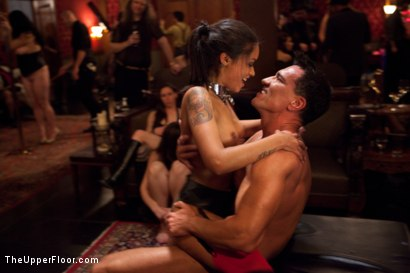 Photo number 25 from Restriction Lifted shot for The Upper Floor on Kink.com. Featuring Skin Diamond, Krysta Kaos, Dylan Ryan, Marco Banderas, Maestro Stefanos and The Pope in hardcore BDSM & Fetish porn.