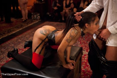 Photo number 28 from Restriction Lifted shot for The Upper Floor on Kink.com. Featuring Skin Diamond, Krysta Kaos, Dylan Ryan, Marco Banderas, Maestro Stefanos and The Pope in hardcore BDSM & Fetish porn.
