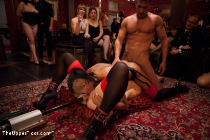 Photo number 8 from Restriction Lifted shot for The Upper Floor on Kink.com. Featuring Skin Diamond, Krysta Kaos, Dylan Ryan, Marco Banderas, Maestro Stefanos and The Pope in hardcore BDSM & Fetish porn.