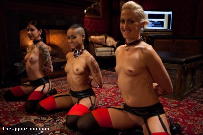 Photo number 2 from Restriction Lifted shot for The Upper Floor on Kink.com. Featuring Skin Diamond, Krysta Kaos, Dylan Ryan, Marco Banderas, Maestro Stefanos and The Pope in hardcore BDSM & Fetish porn.