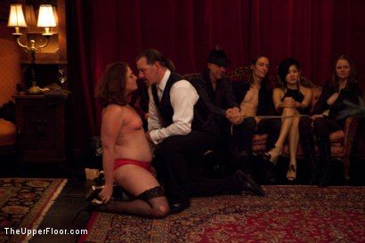 Photo number 14 from Restriction Lifted shot for The Upper Floor on Kink.com. Featuring Skin Diamond, Krysta Kaos, Dylan Ryan, Marco Banderas, Maestro Stefanos and The Pope in hardcore BDSM & Fetish porn.