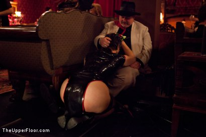 Photo number 16 from Restriction Lifted shot for The Upper Floor on Kink.com. Featuring Skin Diamond, Krysta Kaos, Dylan Ryan, Marco Banderas, Maestro Stefanos and The Pope in hardcore BDSM & Fetish porn.