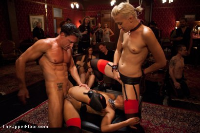 Photo number 22 from Restriction Lifted shot for The Upper Floor on Kink.com. Featuring Skin Diamond, Krysta Kaos, Dylan Ryan, Marco Banderas, Maestro Stefanos and The Pope in hardcore BDSM & Fetish porn.