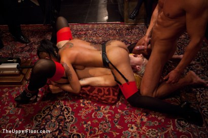 Photo number 10 from Restriction Lifted shot for The Upper Floor on Kink.com. Featuring Skin Diamond, Krysta Kaos, Dylan Ryan, Marco Banderas, Maestro Stefanos and The Pope in hardcore BDSM & Fetish porn.