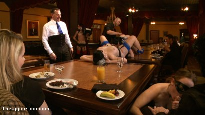 Photo number 4 from Stefanos Brunch<br> Two Year Anniversary  shot for The Upper Floor on Kink.com. Featuring Krysta Kaos and Dylan Ryan in hardcore BDSM & Fetish porn.