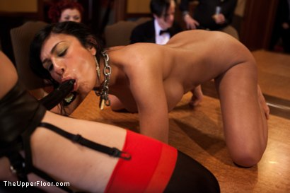 Photo number 3 from Stefanos' Brunch shot for The Upper Floor on Kink.com. Featuring Dylan Ryan and Beretta James in hardcore BDSM & Fetish porn.