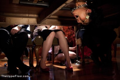 Photo number 5 from Stefanos' Brunch shot for The Upper Floor on Kink.com. Featuring Dylan Ryan and Beretta James in hardcore BDSM & Fetish porn.