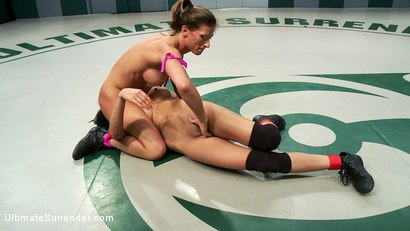 Photo number 12 from The Champ is back! Ariel X catastrophically destroys an experienced rookie. Devastating submissions! shot for Ultimate Surrender on Kink.com. Featuring Ariel X, Isis Love and Beretta James in hardcore BDSM & Fetish porn.