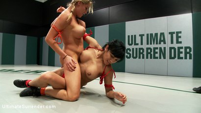 Photo number 1 from 2 hot rookies battle it out. Huge breasts, tight asses, non-scripted wrestling<br>1 Noob gets PWND!! shot for Ultimate Surrender on Kink.com. Featuring Charisma Cappelli, Beretta James and Isis Love in hardcore BDSM & Fetish porn.