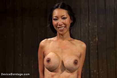 Photo number 15 from Lactating Titties of the Prancing Petite Tia shot for Device Bondage on Kink.com. Featuring Tia Ling and Isis Love in hardcore BDSM & Fetish porn.