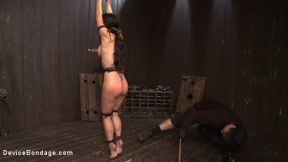 Photo number 14 from Lactating Titties of the Prancing Petite Tia shot for Device Bondage on Kink.com. Featuring Tia Ling and Isis Love in hardcore BDSM & Fetish porn.