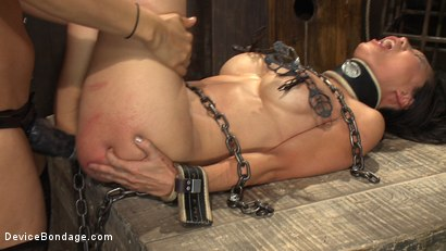 Photo number 10 from 8 Fingers in the Ass = Anal Whore shot for Device Bondage on Kink.com. Featuring Tia Ling and Isis Love in hardcore BDSM & Fetish porn.