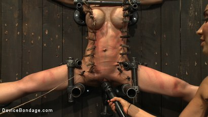 Photo number 6 from Tiny Tia Takes Tenacious Torment  shot for Device Bondage on Kink.com. Featuring Tia Ling and Isis Love in hardcore BDSM & Fetish porn.