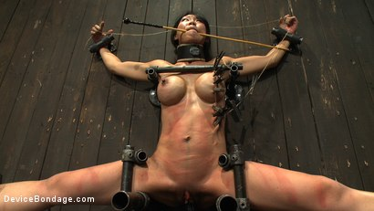 Photo number 13 from Tiny Tia Takes Tenacious Torment  shot for Device Bondage on Kink.com. Featuring Tia Ling and Isis Love in hardcore BDSM & Fetish porn.
