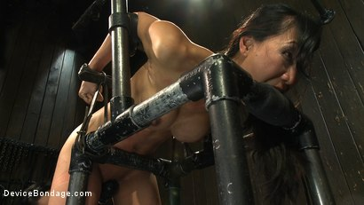 Photo number 13 from Every last orgasm will be had - a bondage crusade shot for Device Bondage on Kink.com. Featuring Tia Ling and Isis Love in hardcore BDSM & Fetish porn.