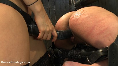 Photo number 5 from Every last orgasm will be had - a bondage crusade shot for Device Bondage on Kink.com. Featuring Tia Ling and Isis Love in hardcore BDSM & Fetish porn.