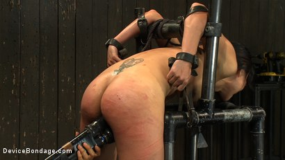 Photo number 8 from Every last orgasm will be had - a bondage crusade shot for Device Bondage on Kink.com. Featuring Tia Ling and Isis Love in hardcore BDSM & Fetish porn.