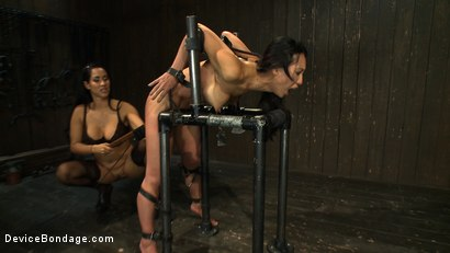Photo number 9 from Every last orgasm will be had - a bondage crusade shot for Device Bondage on Kink.com. Featuring Tia Ling and Isis Love in hardcore BDSM & Fetish porn.