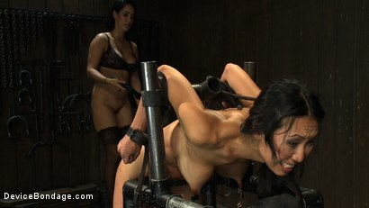 Photo number 10 from Every last orgasm will be had - a bondage crusade shot for devicebondage on Kink.com. Featuring Tia Ling and Isis Love in hardcore BDSM & Fetish porn.