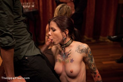 Photo number 14 from Community Dinner   Fisting shot for The Upper Floor on Kink.com. Featuring Krysta Kaos, Maestro Stefanos and The Pope in hardcore BDSM & Fetish porn.