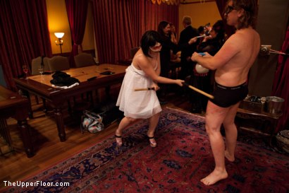 Photo number 15 from Community Dinner   Fisting shot for The Upper Floor on Kink.com. Featuring Krysta Kaos, Maestro Stefanos and The Pope in hardcore BDSM & Fetish porn.