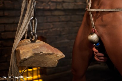 Photo number 9 from Lesbian 5 Slave Training Intake<br>Featured Trainer Claire Adams  shot for The Training Of O on Kink.com. Featuring Ariel X, Claire Adams, Bryn Blayne, Yasmine de Leon, Mackenzie Lux and Mallory Mallone in hardcore BDSM & Fetish porn.