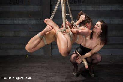 Photo number 11 from Lesbian Slave Training Ariel X<br>Featured Trainer Bobbi Starr shot for The Training Of O on Kink.com. Featuring Ariel X and Bobbi Starr in hardcore BDSM & Fetish porn.