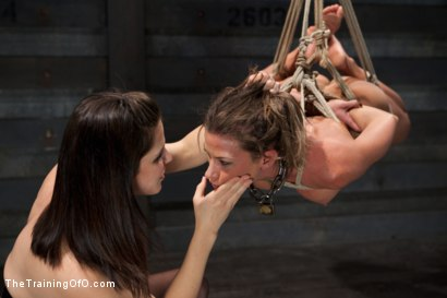 Photo number 9 from Lesbian Slave Training Ariel X<br>Featured Trainer Bobbi Starr shot for The Training Of O on Kink.com. Featuring Ariel X and Bobbi Starr in hardcore BDSM & Fetish porn.