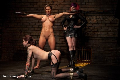 Photo number 15 from Lesbian Slave Training<br>Featured Trainer Goddess Soma shot for The Training Of O on Kink.com. Featuring Ariel X, Soma Snakeoil (Goddess Soma) and Krysta Kaos in hardcore BDSM & Fetish porn.