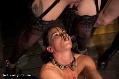 Photo number 5 from Lesbian Slave Training<br>Featured Trainer Goddess Soma shot for The Training Of O on Kink.com. Featuring Ariel X, Soma Snakeoil (Goddess Soma) and Krysta Kaos in hardcore BDSM & Fetish porn.