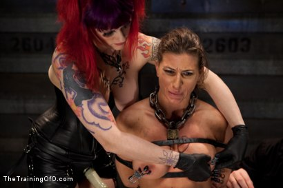 Photo number 9 from Lesbian Slave Training<br>Featured Trainer Goddess Soma shot for The Training Of O on Kink.com. Featuring Ariel X, Soma Snakeoil (Goddess Soma) and Krysta Kaos in hardcore BDSM & Fetish porn.