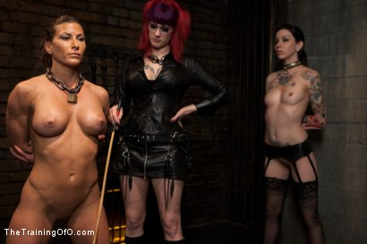 Photo number 1 from Lesbian Slave Training<br>Featured Trainer Goddess Soma shot for The Training Of O on Kink.com. Featuring Ariel X, Soma Snakeoil (Goddess Soma) and Krysta Kaos in hardcore BDSM & Fetish porn.