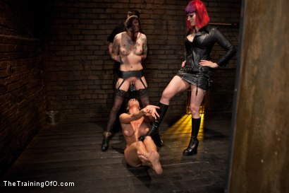 Photo number 6 from Lesbian Slave Training<br>Featured Trainer Goddess Soma shot for The Training Of O on Kink.com. Featuring Ariel X, Soma Snakeoil (Goddess Soma) and Krysta Kaos in hardcore BDSM & Fetish porn.