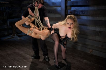 Photo number 13 from Training Beretta James Day 2<br> Processing the Pain to Become a True S&M Slave shot for The Training Of O on Kink.com. Featuring Aiden Starr and Beretta James in hardcore BDSM & Fetish porn.