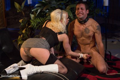 Photo number 4 from The Ultimate Cock Tease shot for Divine Bitches on Kink.com. Featuring Lorelei Lee and DJ in hardcore BDSM & Fetish porn.