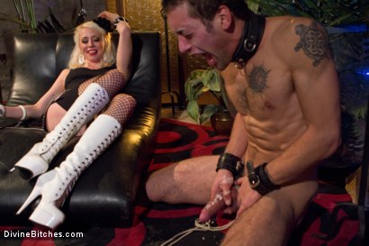 Photo number 14 from The Ultimate Cock Tease shot for Divine Bitches on Kink.com. Featuring Lorelei Lee and DJ in hardcore BDSM & Fetish porn.