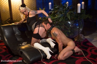 Photo number 3 from The Ultimate Cock Tease shot for Divine Bitches on Kink.com. Featuring Lorelei Lee and DJ in hardcore BDSM & Fetish porn.