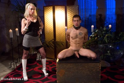 Photo number 5 from The Ultimate Cock Tease shot for Divine Bitches on Kink.com. Featuring Lorelei Lee and DJ in hardcore BDSM & Fetish porn.