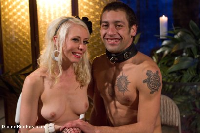 Photo number 8 from The Ultimate Cock Tease shot for Divine Bitches on Kink.com. Featuring Lorelei Lee and DJ in hardcore BDSM & Fetish porn.