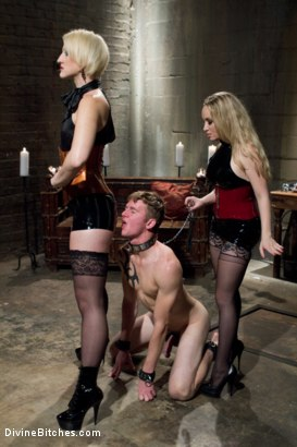 Photo number 12 from A Divine Giantess shot for Divine Bitches on Kink.com. Featuring Aiden Starr, Dylan Ryan and Cole Brooks in hardcore BDSM & Fetish porn.
