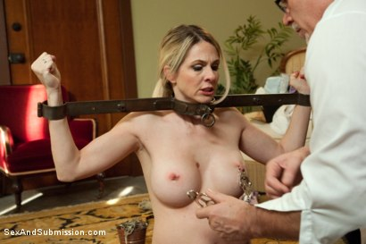 Daddy maid bondage sex