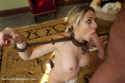 Photo number 6 from The Curious Maid shot for Sex And Submission on Kink.com. Featuring Mark Davis and Angela Attison in hardcore BDSM & Fetish porn.