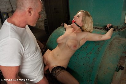 Photo number 7 from Peeping Tom gets Revenge on Busty Blonde shot for Sex And Submission on Kink.com. Featuring Mark Davis and Penny Pax in hardcore BDSM & Fetish porn.